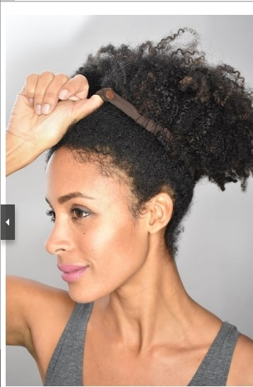 SwirlyCurly Afro Puff Scrunchies Product Description Page ...