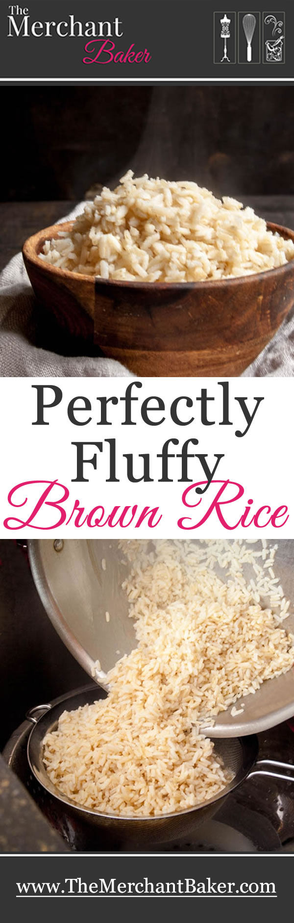 Perfectly fluffy brown rice recipe brown rice rice and brown perfectly fluffy brown rice ccuart Images