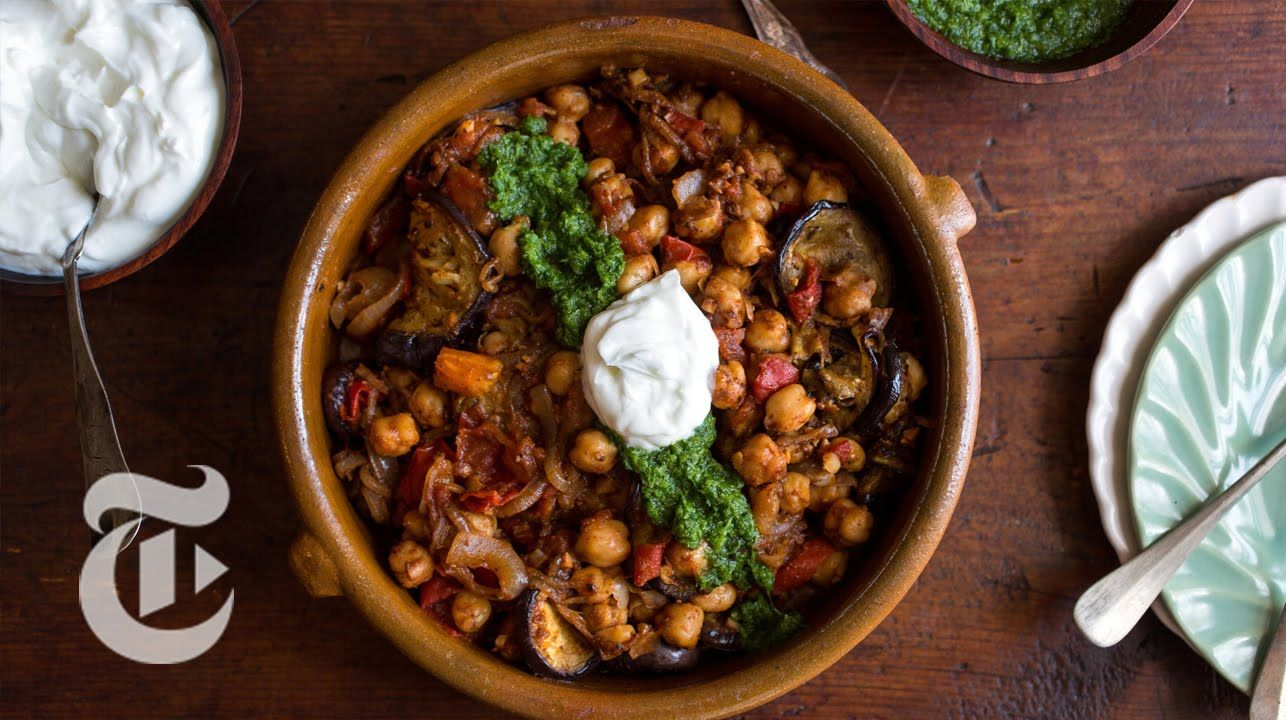 Fried Eggplant With Chickpeas Melissa Clark Recipes The New