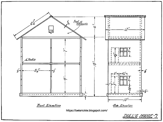 Free Plans For A Tudor Doll House Belznickle Blogspot Free Plans For A Tudor Doll House Doll House Doll House Plans How To Plan