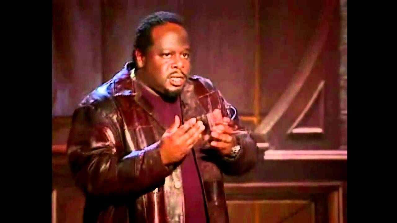 Def Poetry - Cedric The Entertainer