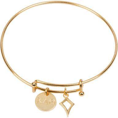 Kappa Alpha Theta Bracelet Gold Kappa Alpha Theta Theta Gold Plated Bracelets