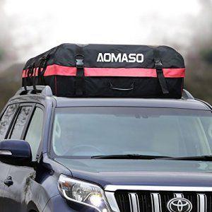 Aomaso Car Top Porte Toit tanche Top Cargo rack 10 pieds cubes de