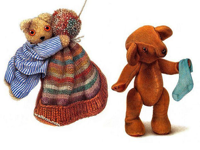 Jane Hissey : Hoot, Lovely Stuffed Animals - Little Old ...