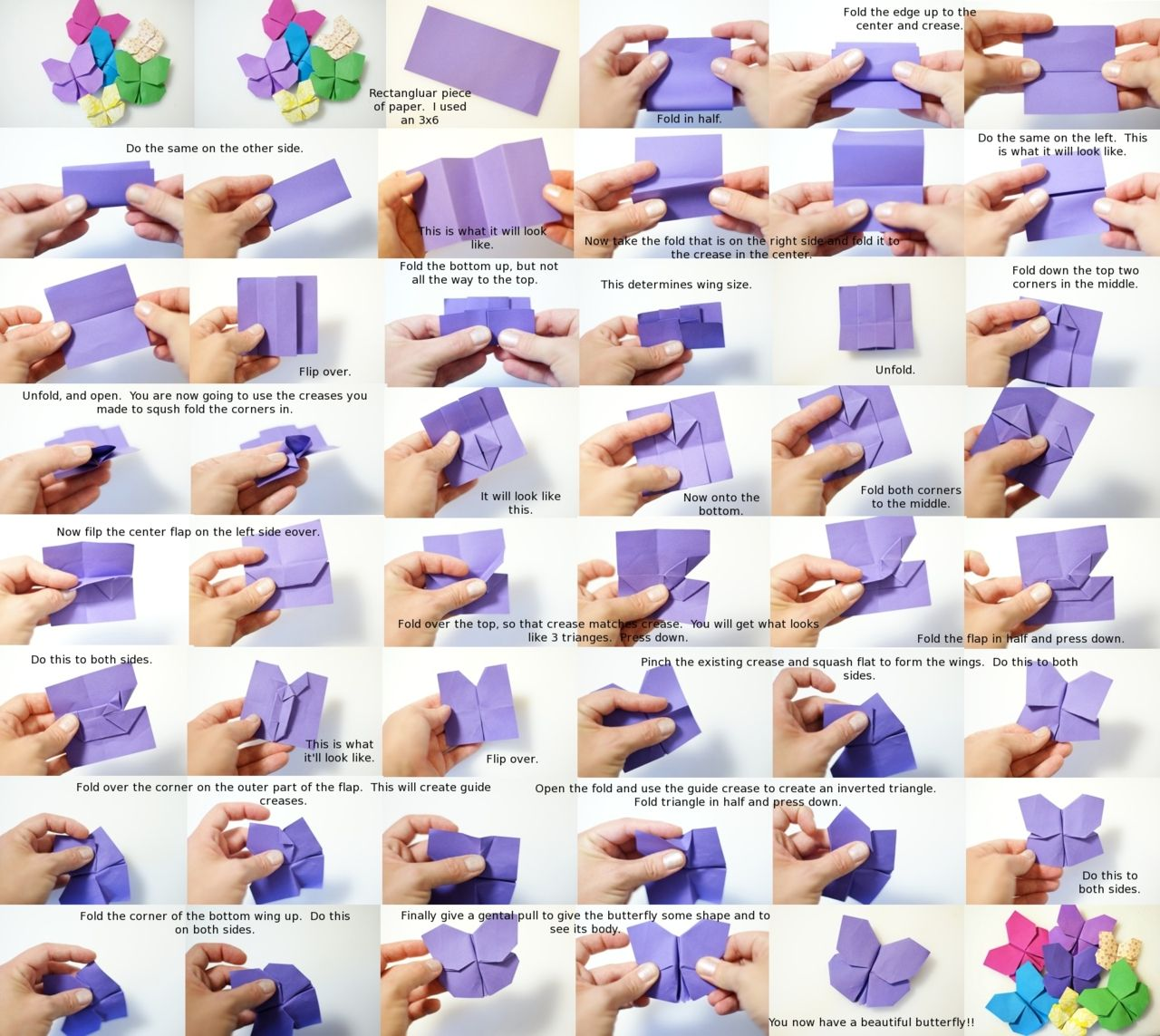 Diy Origami Butterfly Pinterest Ratrat Origamiorigami Rat Diagram Guide Another Easy And Clear Explanation Of All The Steps Good Job