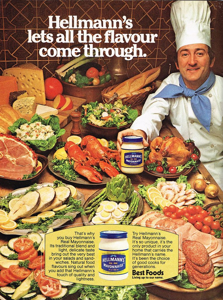 Vintage Ad #1,829: Hellmann's as Flavour Booster | by jbcurio