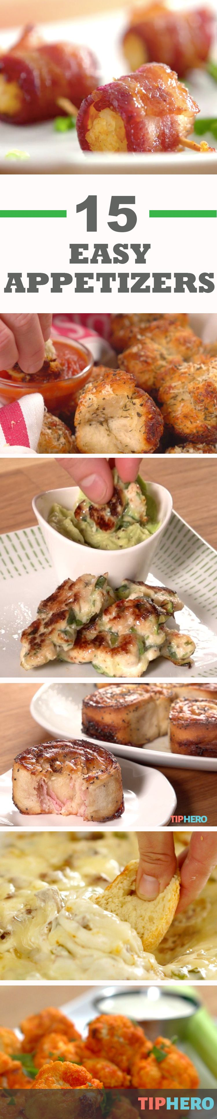 27 easy appetizers that are perfect for your super bowl for Platos faciles para cocinar