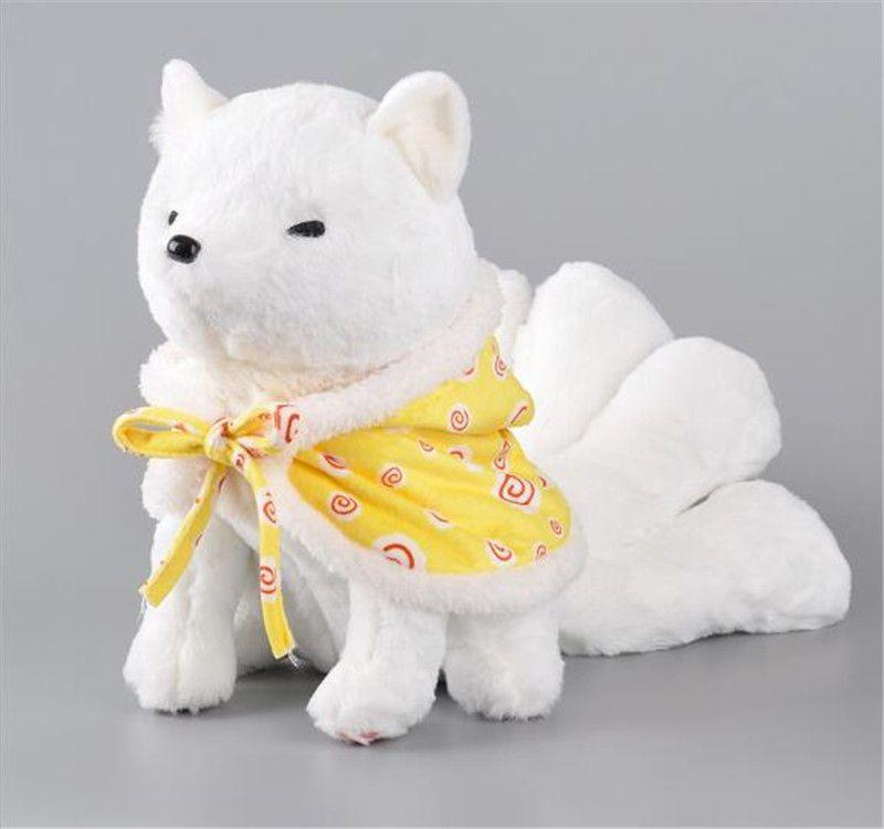 League of Legends LOL Ahri the Nine Tailed Fox Cosplay Doll Toy Anime Plush Doll