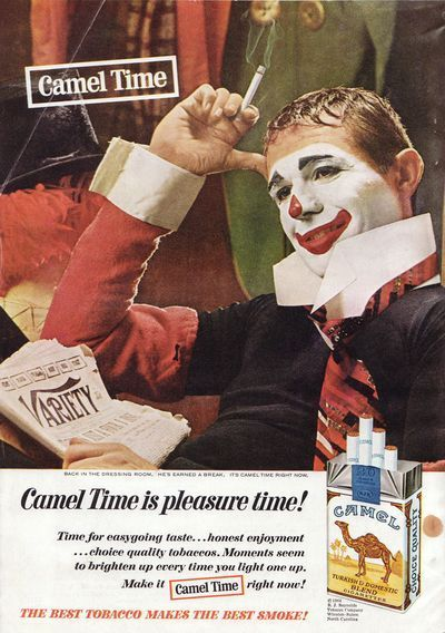 camel time clown