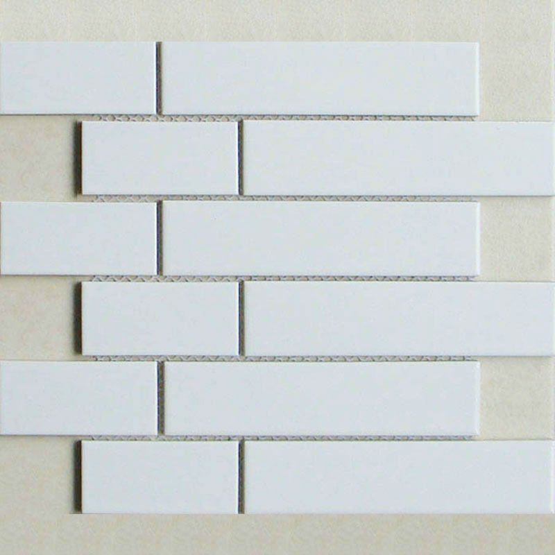 Ceramic Tile Sheets Strip Tiling Mosaic Supplies Kitchen Backsplash Wall Stickers Whole Subway Tiles Bathroom Floors