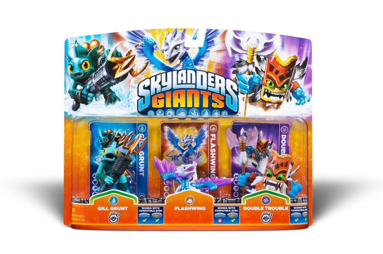 Skylanders Giants Triple Pack 4 (Gill Grunt, Flashwing