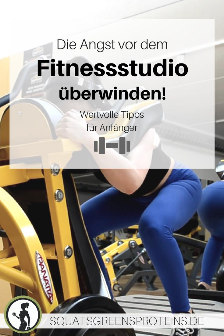 Angst vor dem Fitnessstudio überwinden - hilfreiche Tipps für ...