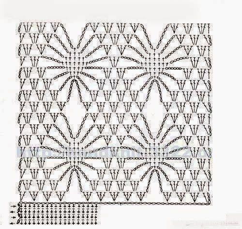 Mis Pasatiempos Amo el Crochet: Manta de motivos
