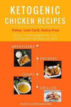 KETOGENIC CHICKEN RECIPES #keto #paleo #lowcarb #recipes #ketogenic http://paleomagazine.com/ketogenic-chicken-recipes