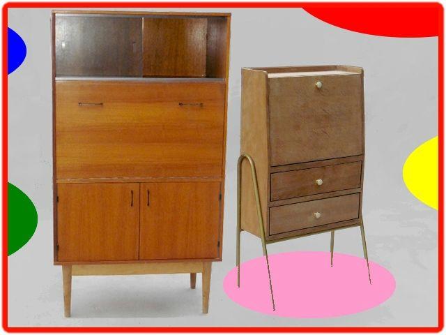 Meubles Vintage Scandinaves Mobilier De Salon Meuble Vintage Meuble Annee 60