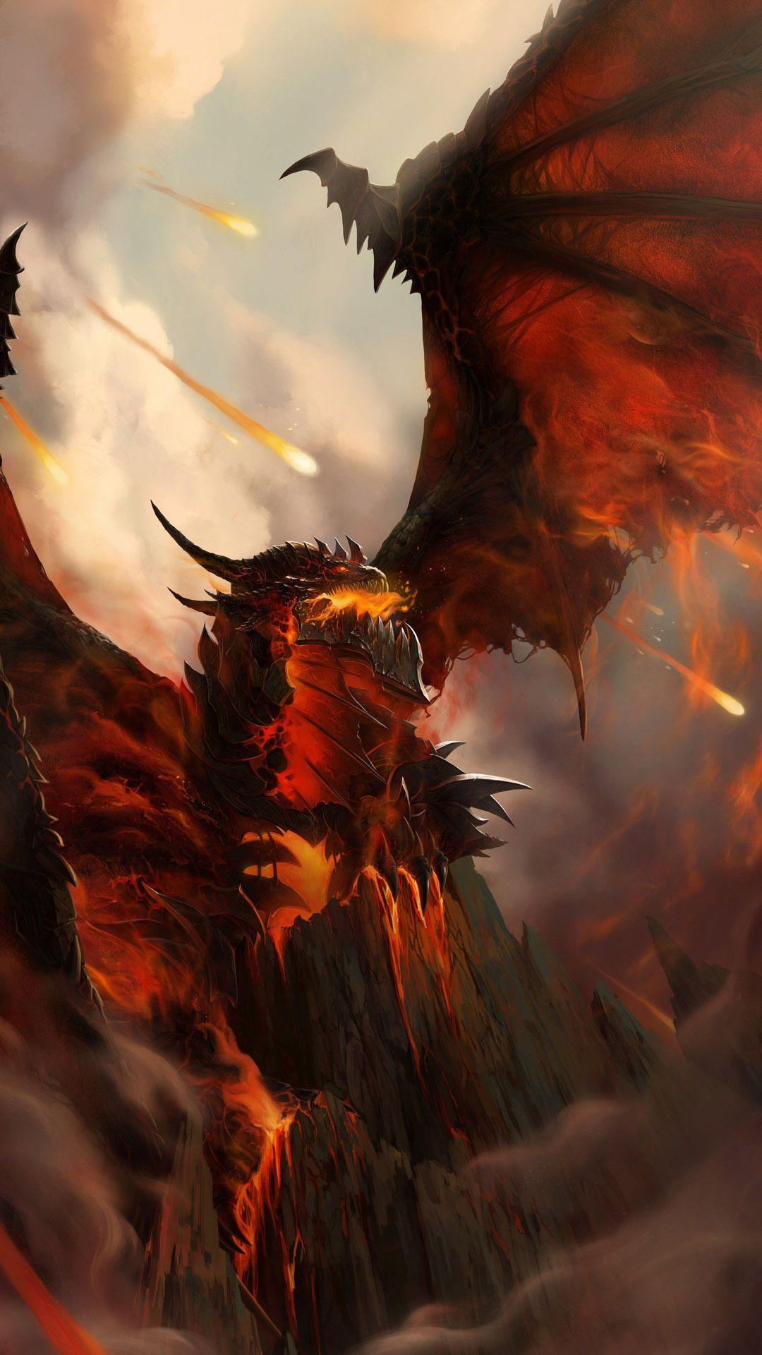 Deathwing Htc One Wallpaper World Of Warcraft Pinterest