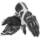 Motorcycle Gloves Dainese Veloce Lady Black White