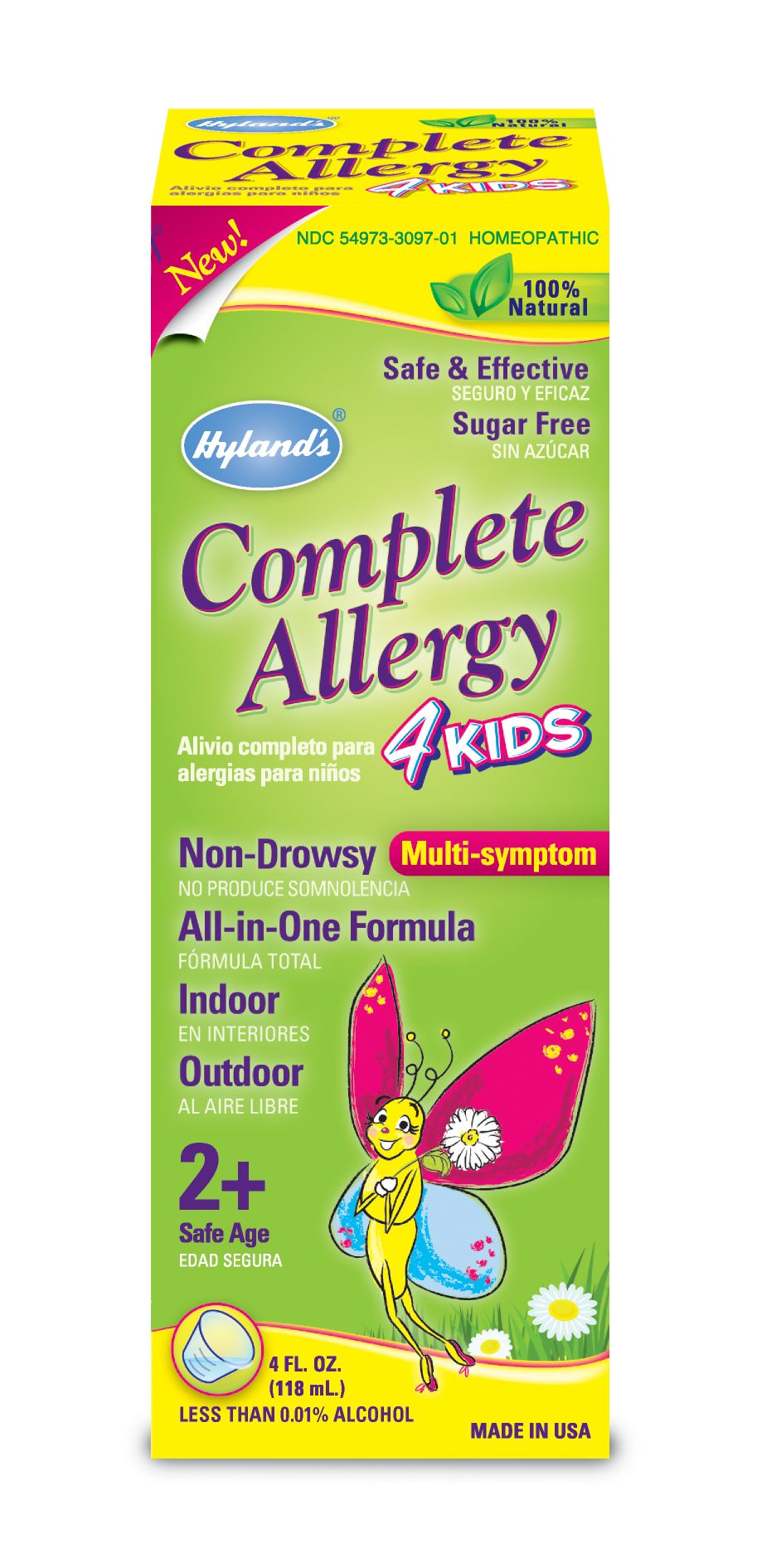 Hyland's Complete Allergy 4 Kids | Natural Allergy Remedies