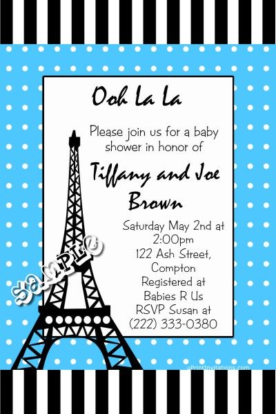 Eiffel tower paris baby shower invitations any color scheme get eiffel tower paris baby shower invitations any color scheme get these invitations right now design yourself online download and print immediately solutioingenieria Choice Image