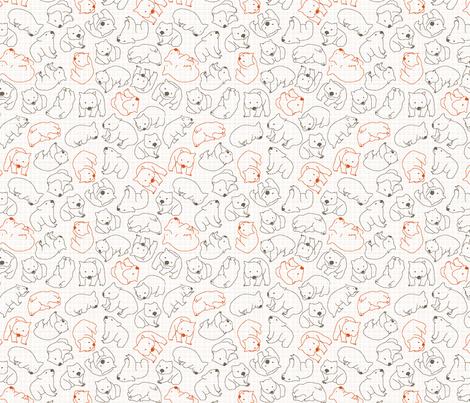 wombats fabric by einekleinedesignstudio on Spoonflower - custom fabric
