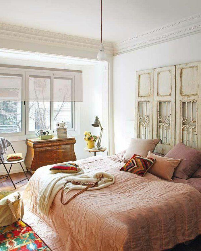Plusieurs idées pour faire une tête de lit soi-même Bedrooms - couleur gris perle pour chambre