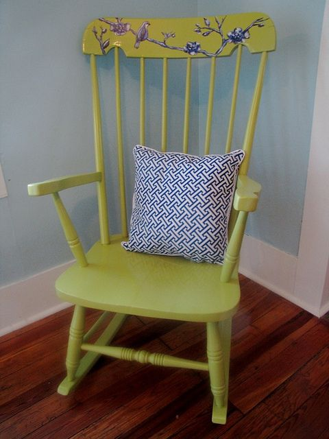 Rocking Chair Refinish! #DIY