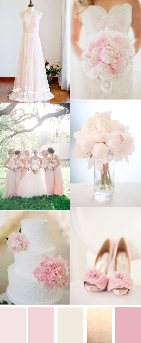 Elegant Pale Pink Wedding Ideas
