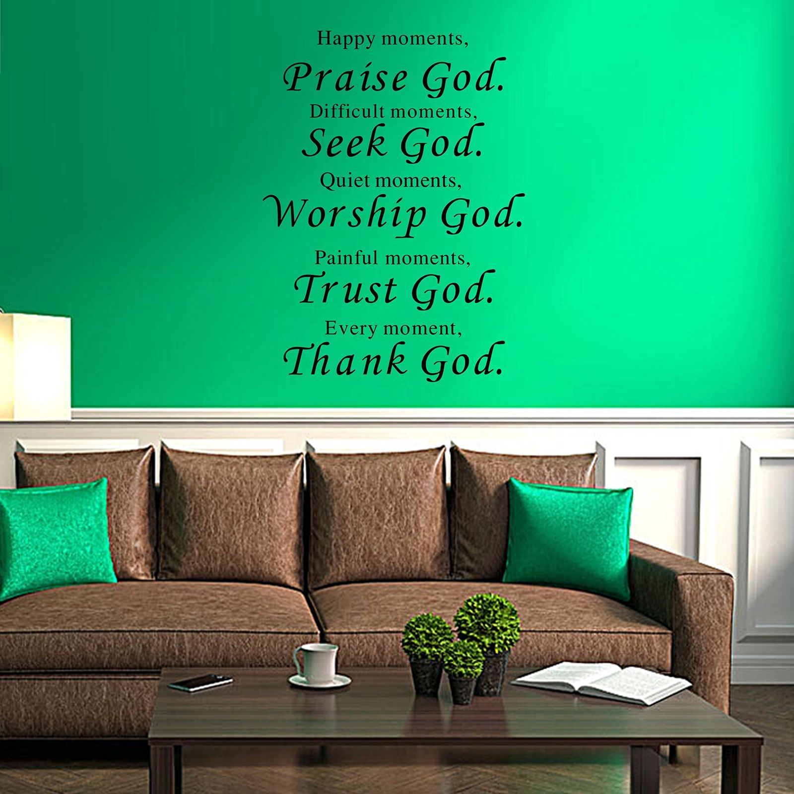 Removable vinyl decal wall sticker diy art mural home decor quote