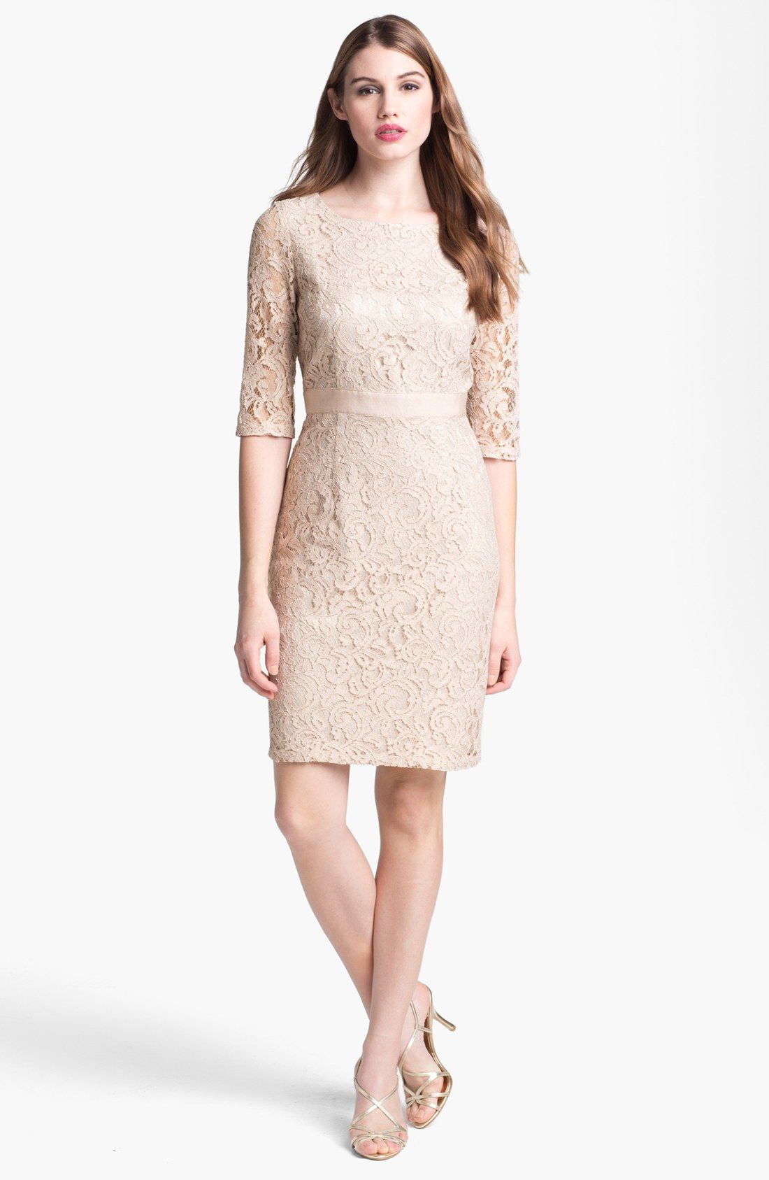Eliza J Lace Sheath Dress | Nordstrom Mother of the Bride/Groom ...