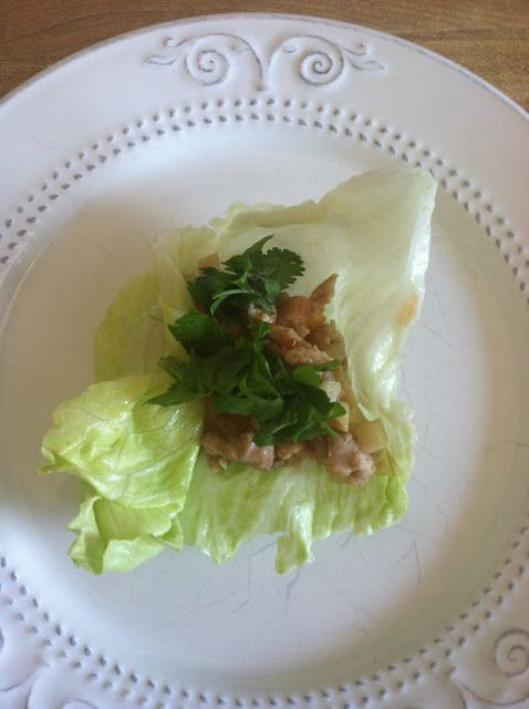 Asian Chicken Lettuce Wraps - They're a crowd pleaser!