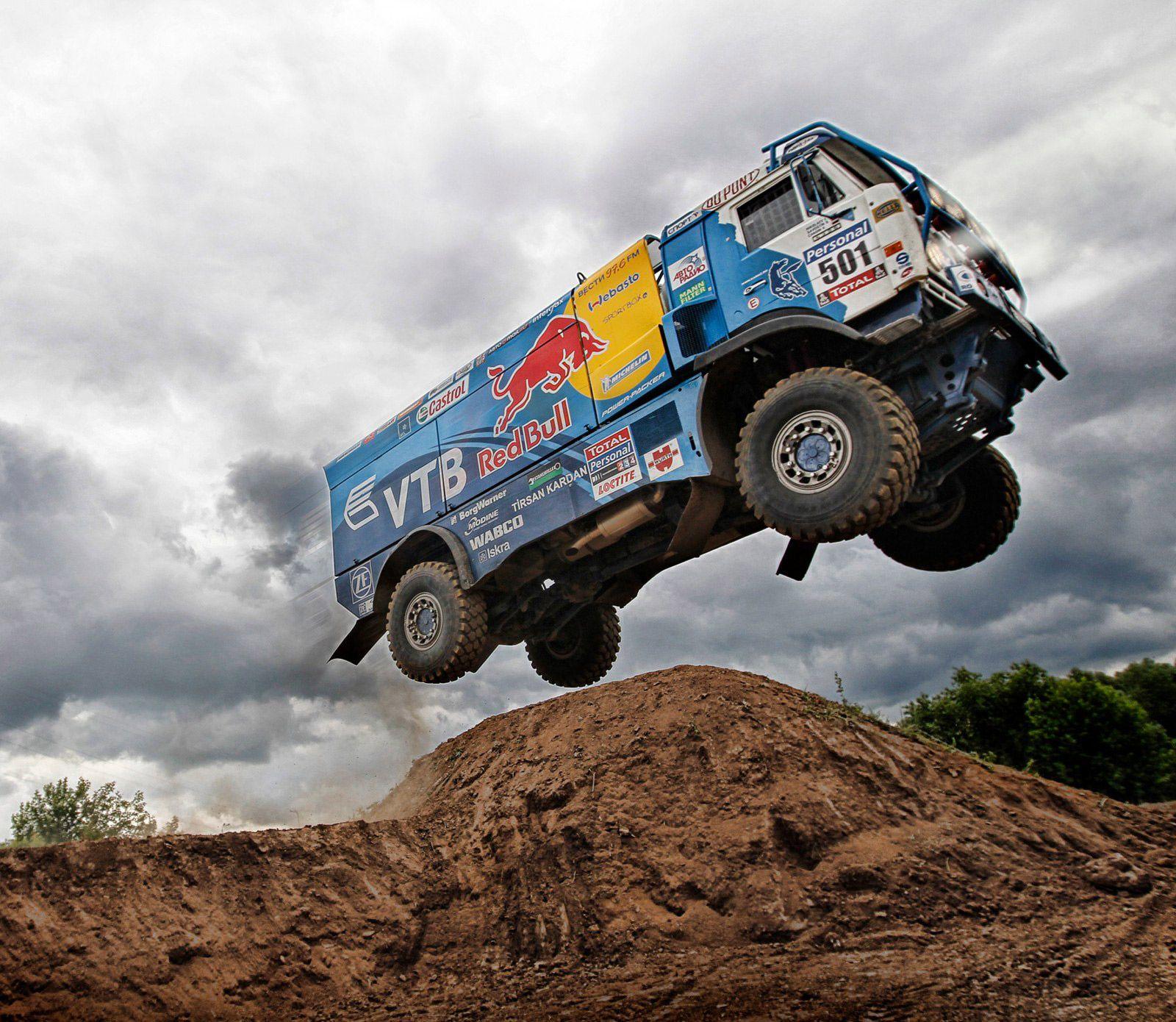 Trucks Can Fly Trucks Dakar Offroad Trucks