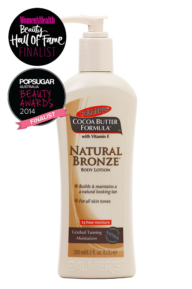 A gradual tanning moisturiser infused with pure cocoa