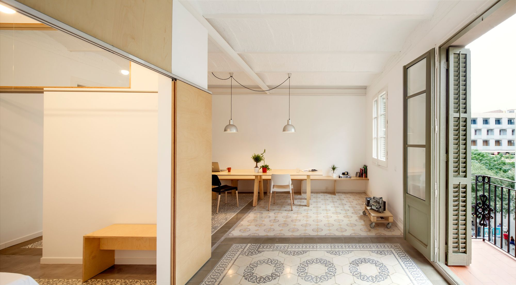 Galer a de reforma de un piso en eixample de barcelona - Reforma pisos barcelona ...