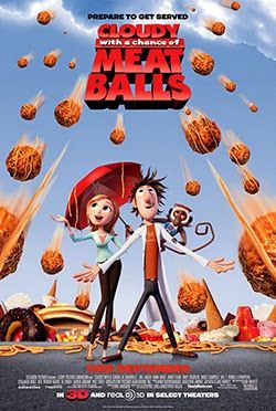 Cloudy With A Chance Of Meatballs 2009 Hindi Brrip 720p Watch