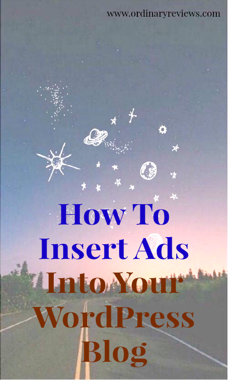 How To Insert Ads Into Your WordPress Blog Header