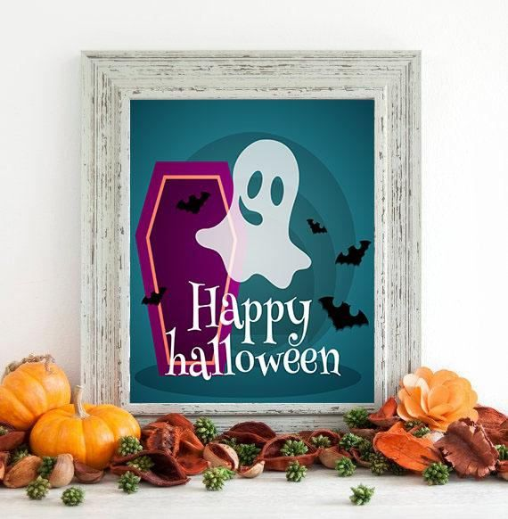 INSTANT DOWNLOAD #Halloween party decorations! Print your own party - halloween party ideas for adults decorations