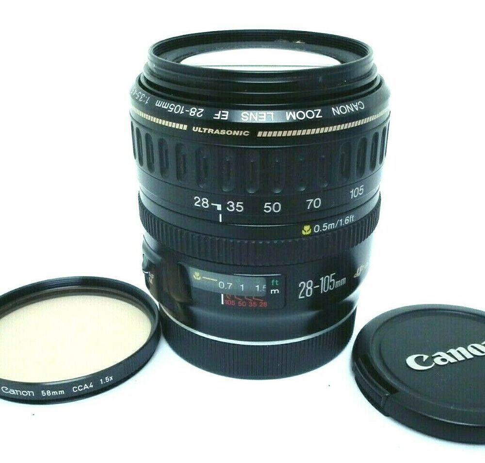 Canon Ef 28 105mm F 3 5 45 Ultrasonic Objektiv Top Vom Handler Ultrasonic Garmin Watch Category