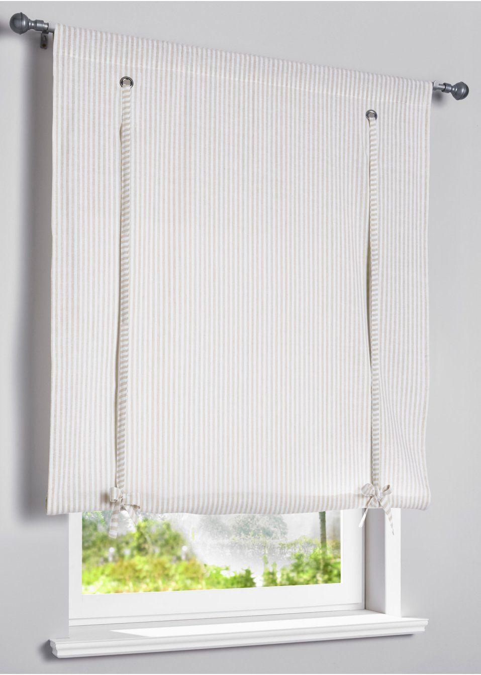 4dd4d17965a98b Jetzt anschauen: Eine schöne Dekoration für Dein Fenster bietet die  Bindegardine