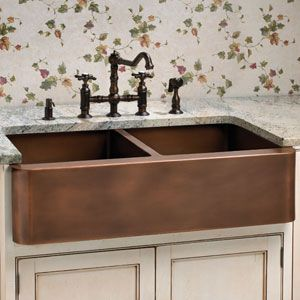 Nomadic Decorator   What Faucet Goes With A Copper Sink    Http://nomadicdecorator