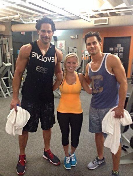 Joe and Matt / Gym time ---10/2014