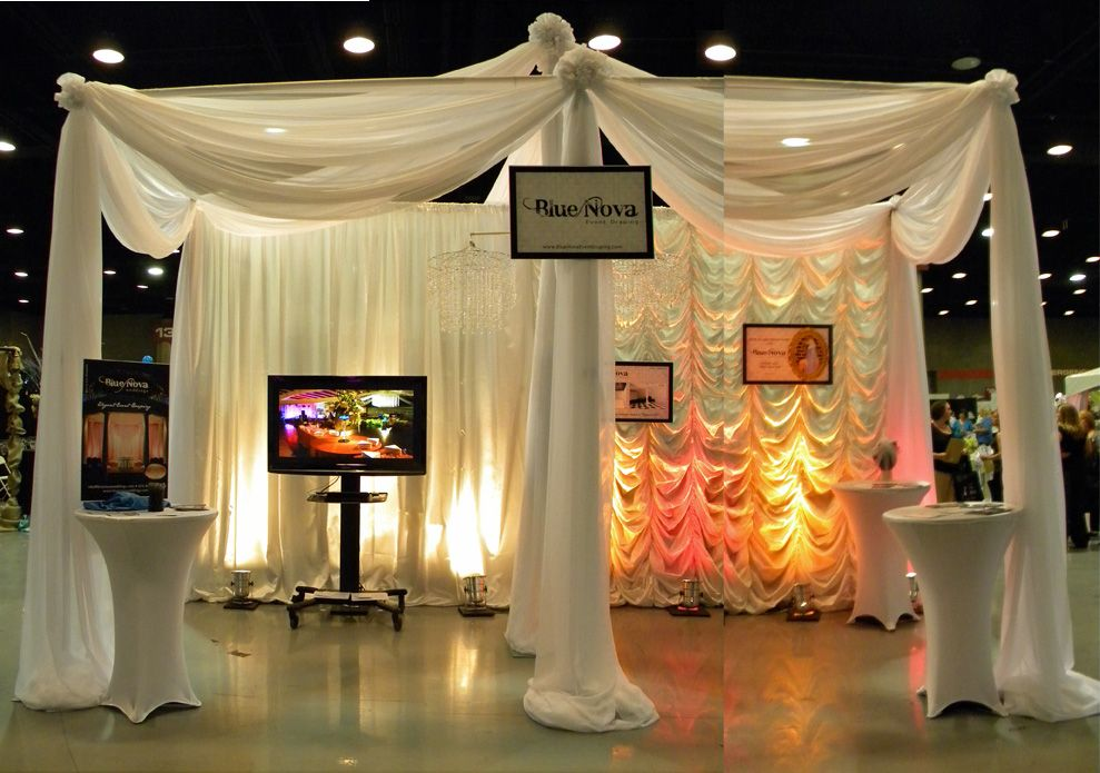 Wedding Expo Booth Ideas: Wedding Expo Booth; Example Of Technology Being