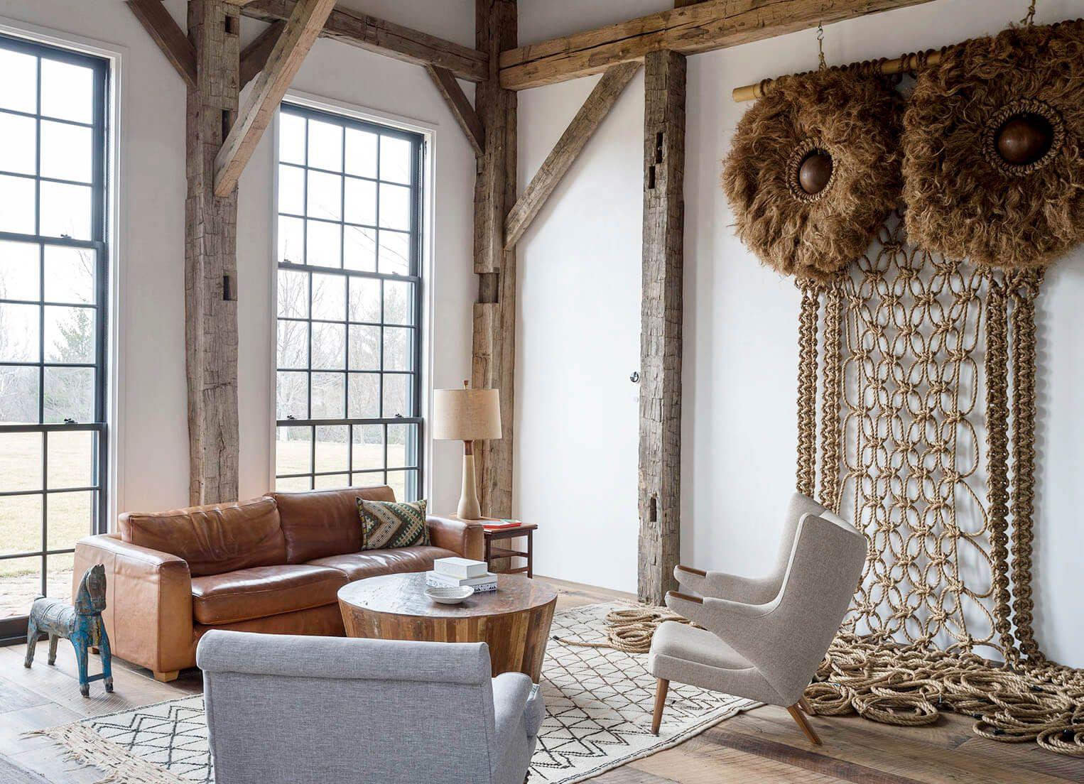 Breathtaking modern farmhouse style retreat in Napa Valley ...