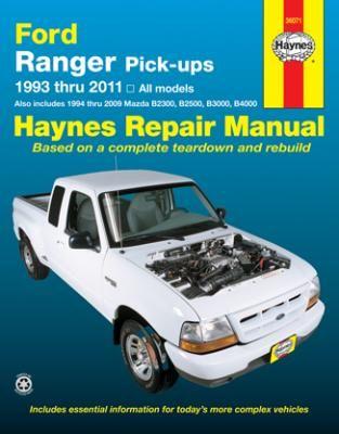 ford ranger and mazda pick ups haynes repair manual ford ranger rh pinterest com Haynes Manuals for 2003 Jeep Clymer Manuals