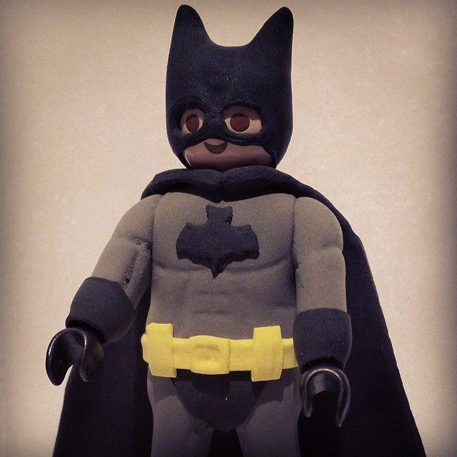 #playmolook #playmobil #custom #jumping #coleccion #batman