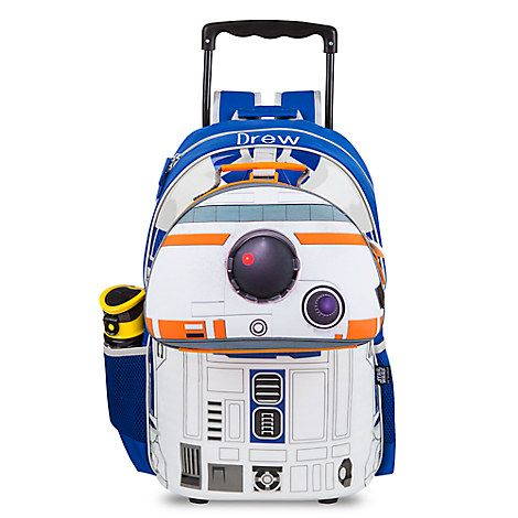 R2-D2 Talking Light-Up Rolling Backpack - Personalizable | ΠΑΙΔΙΚΟ ...