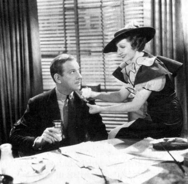 Claudette Colbert in She Married Her Boss, movie 27