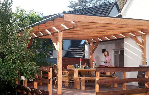 Terrassenuberdachung Terrassenuberdachung Terrassenuberdachung Freistehend Terrasse Bauen