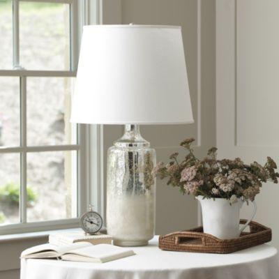 Southport table lamp ballard designs w drum lamp 16 diam 11h in