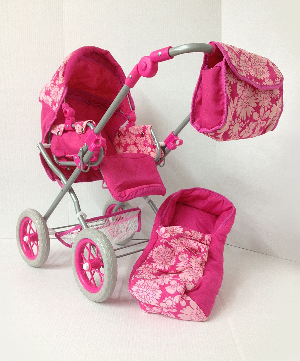 Pink Doll Carriage Baby doll strollers, Pink doll, Dolls