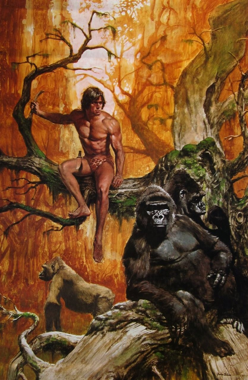 tarzan art   Desenho: Tarzan   Pinterest   Tarzan and Fantasy art